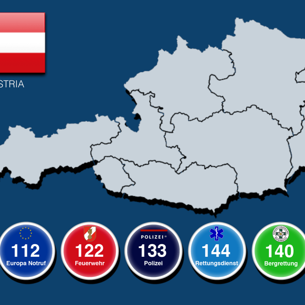 Dial 112 or 144 to Call an Ambulance in Austria