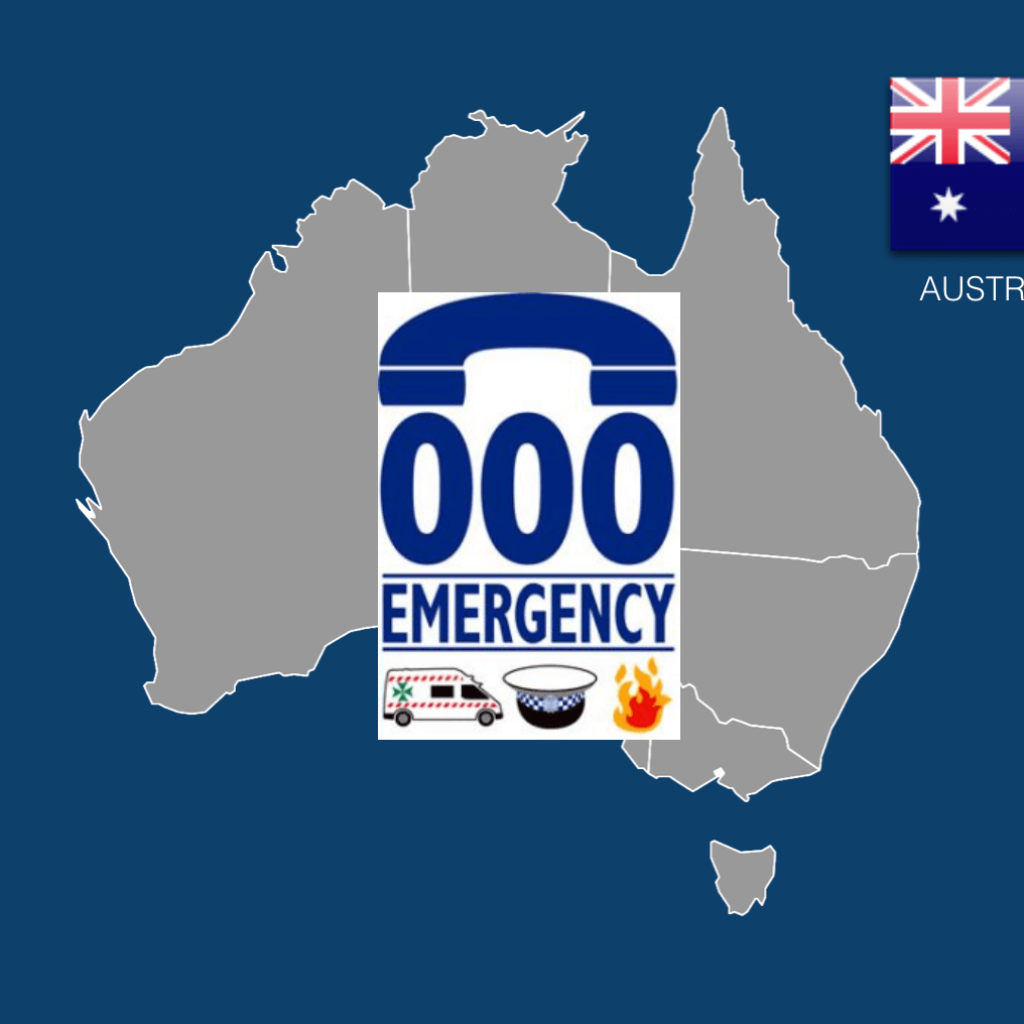 Australia Emergency Services Dial 000