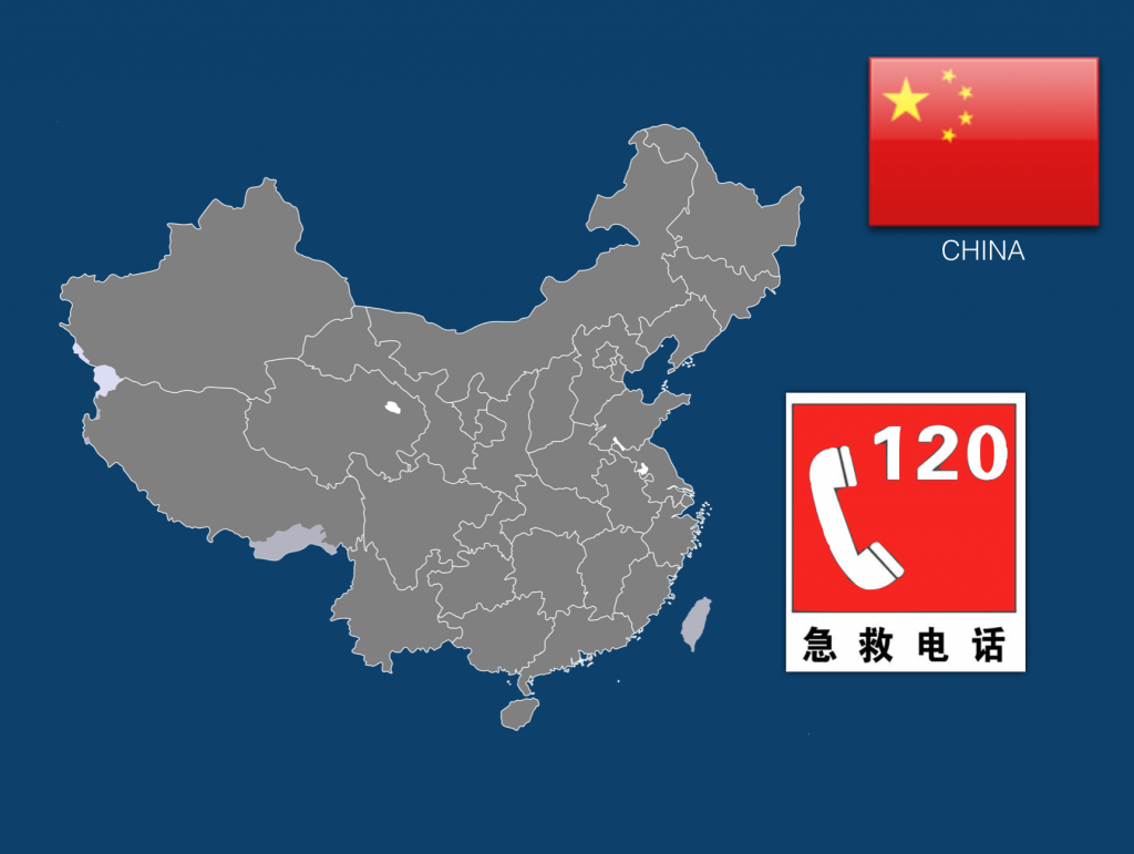 Dial 120 to Call an Ambulance in China