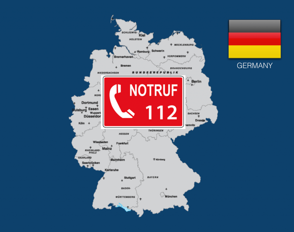 Dial 112 to Call an Ambulance in Germany