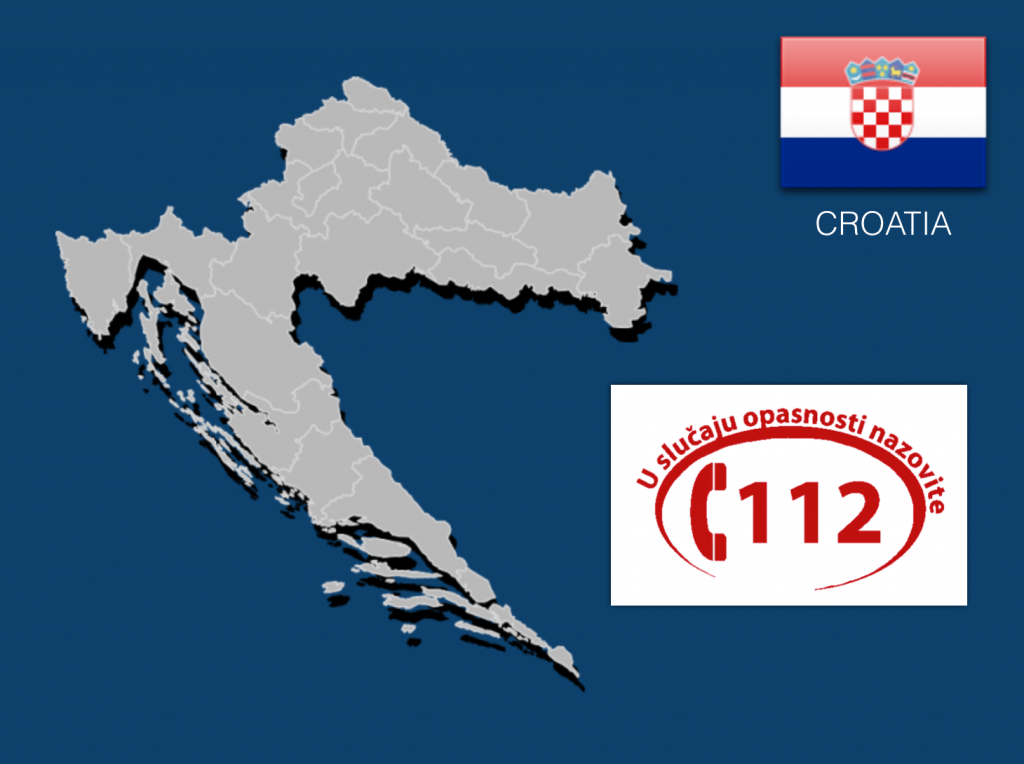 Dial 112 to Call an Ambulance in Croatia