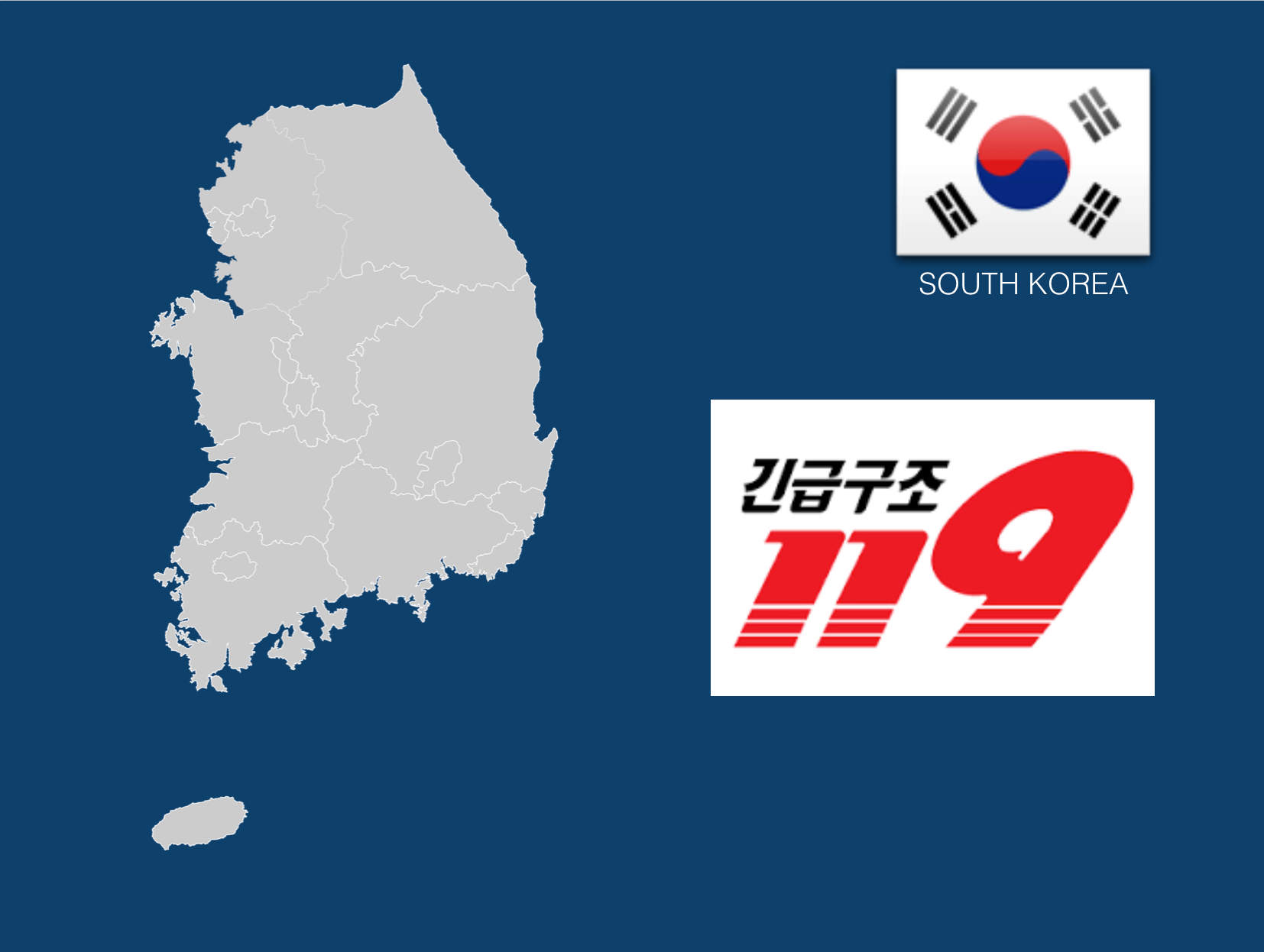 Dial 119 to Call an Ambulance in South Korea