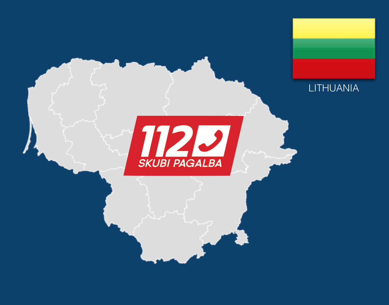 Dial 112 to Call an Ambulance in Lithuania