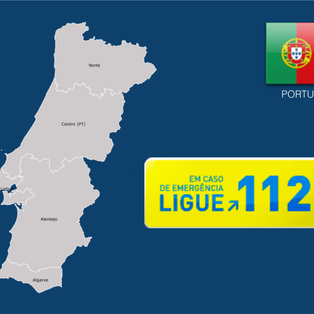 Dial 112 to Call an Ambulance in Portugal