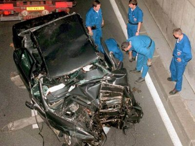 Princess Diana Car Crash Scene