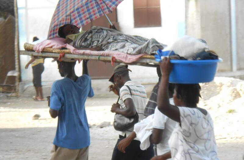 Bed Transport for Woman in Labor - Sud, Haiti