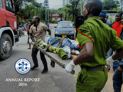Annual Report 2016 - Trek Medics International