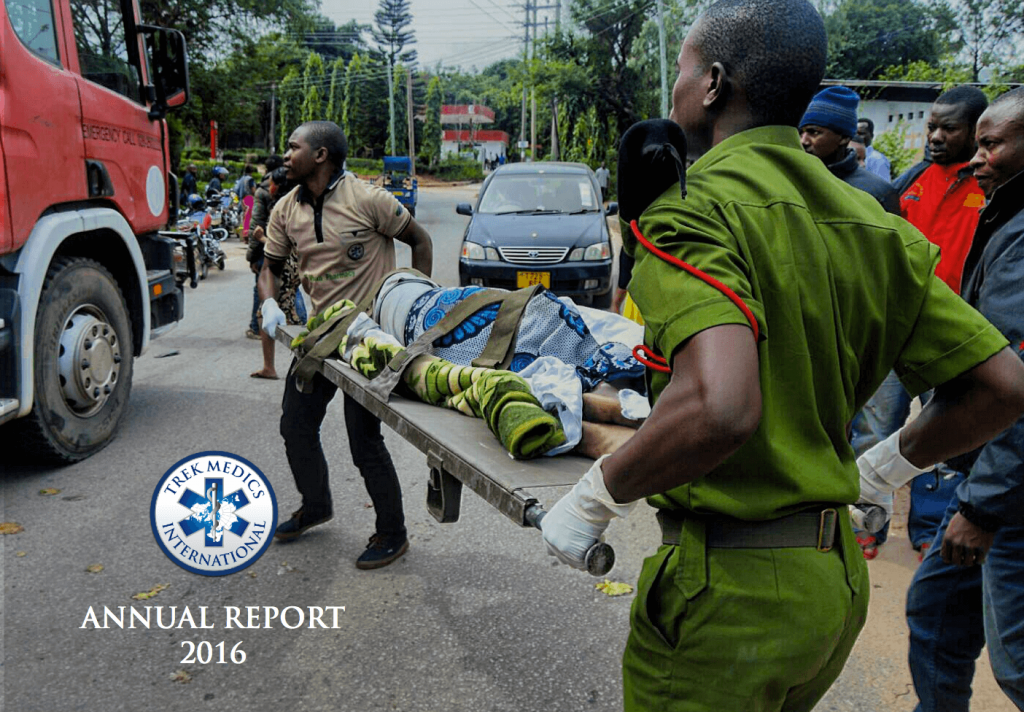 2016 Annual Report - Trek Medics International