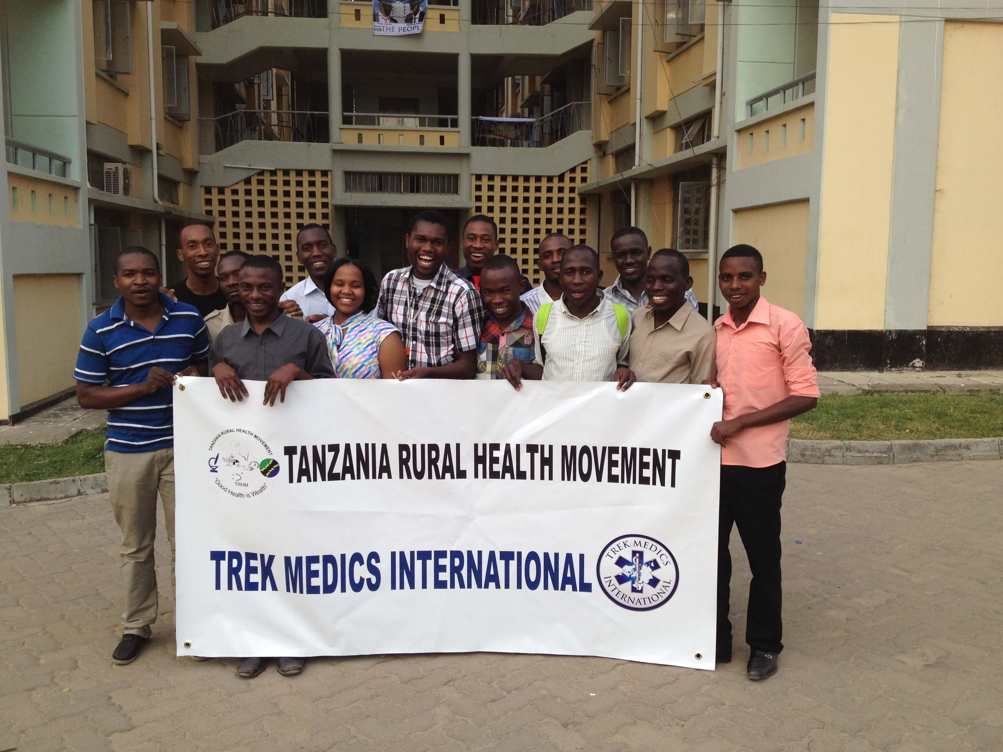 Trek Medics International and Tanzania Rural Health Movement