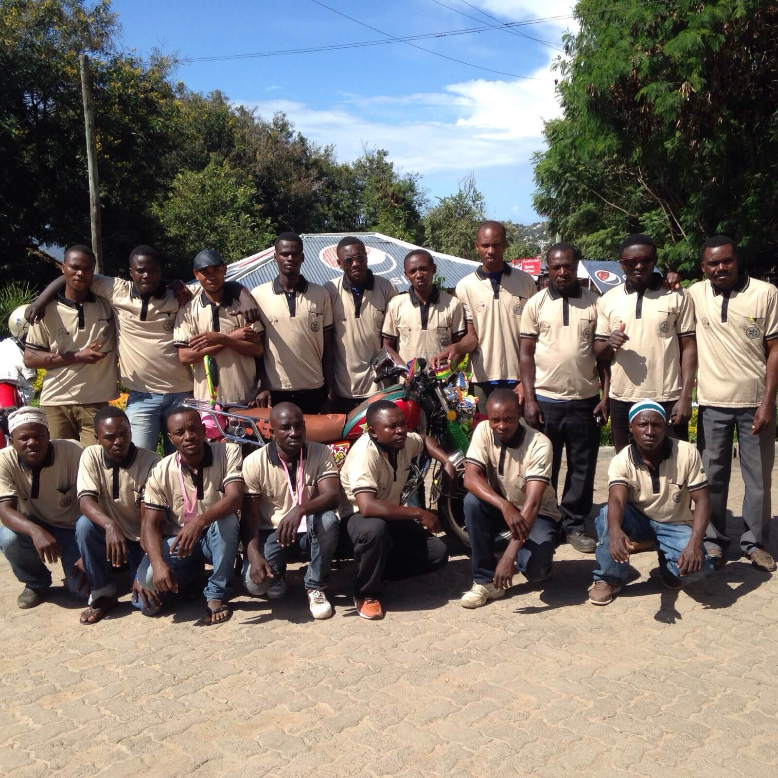 Bodaboda Emergency Response Training - Class 1 -- Tanzania Rural Health Movement