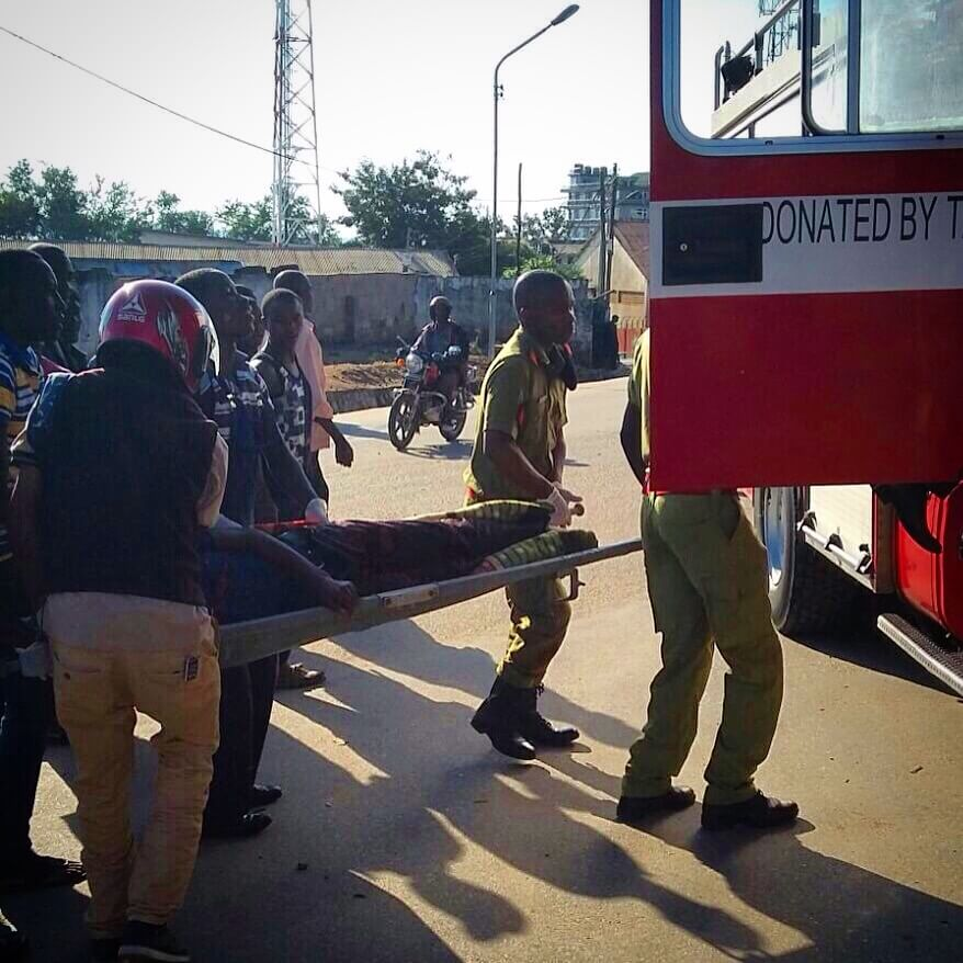 Fire and Rescue Force Mwanza, Tanzania - Patient Extrication
