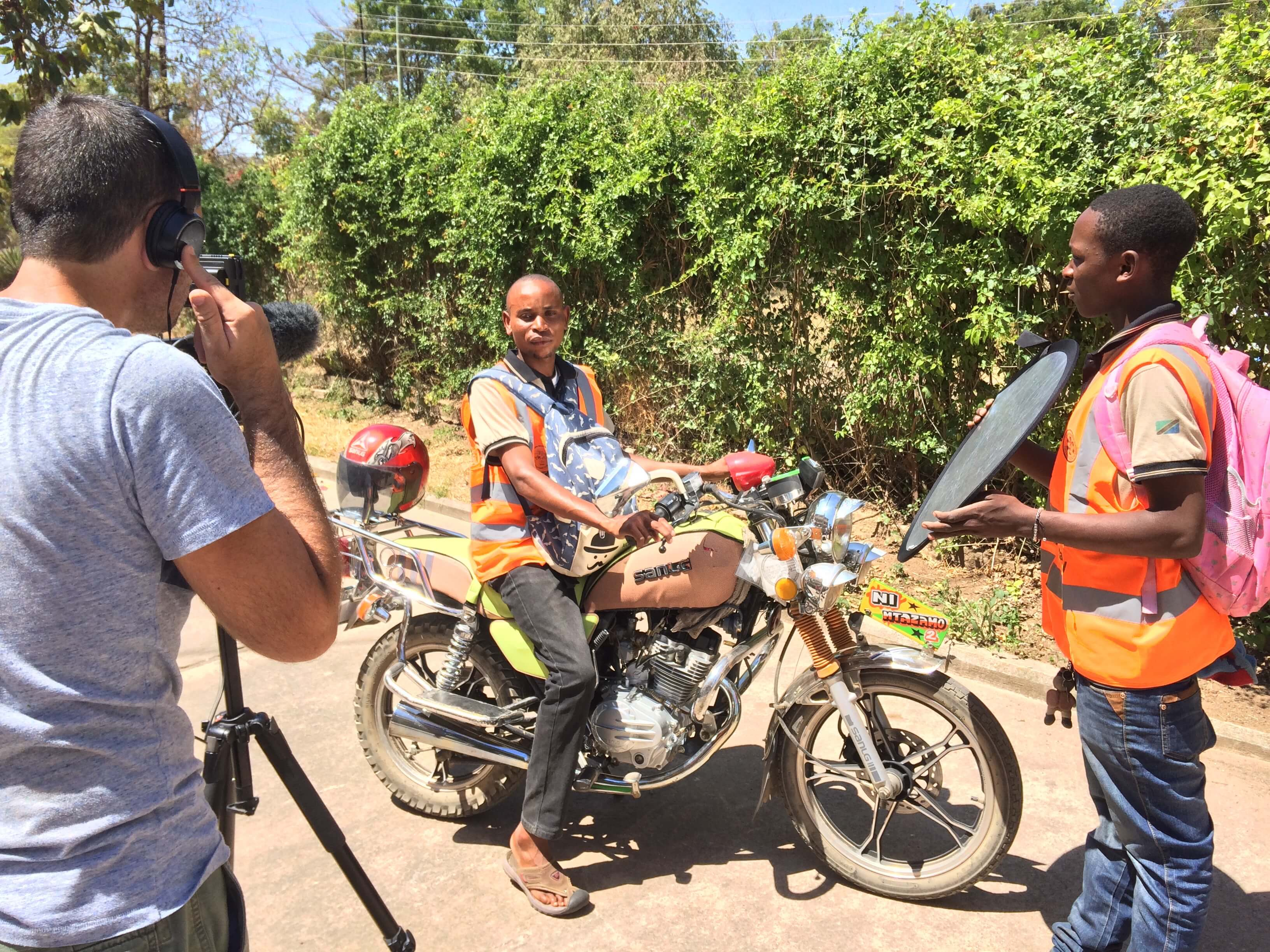 bodaboda emergency responder - Tanzania Rural Health Movement