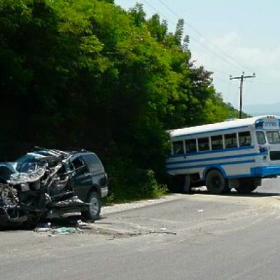 School Bus Accident, Haiti
