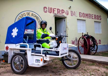 eRanger Motorcycle Ambulance - Manzanillo, Dominican Republic