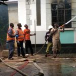 dormitory fire - Mwanza Fire & Rescue Force