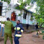 dormitory fire - Mwanza Fire & Rescue Force