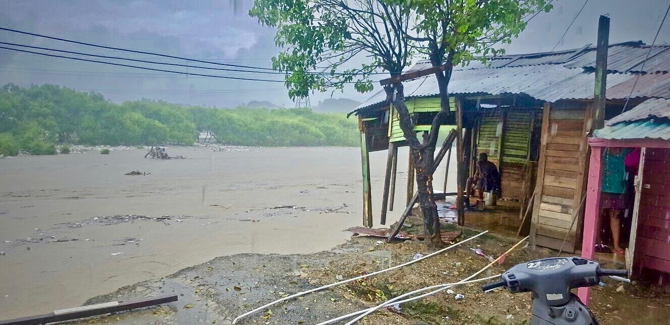 Inundación puerto plata