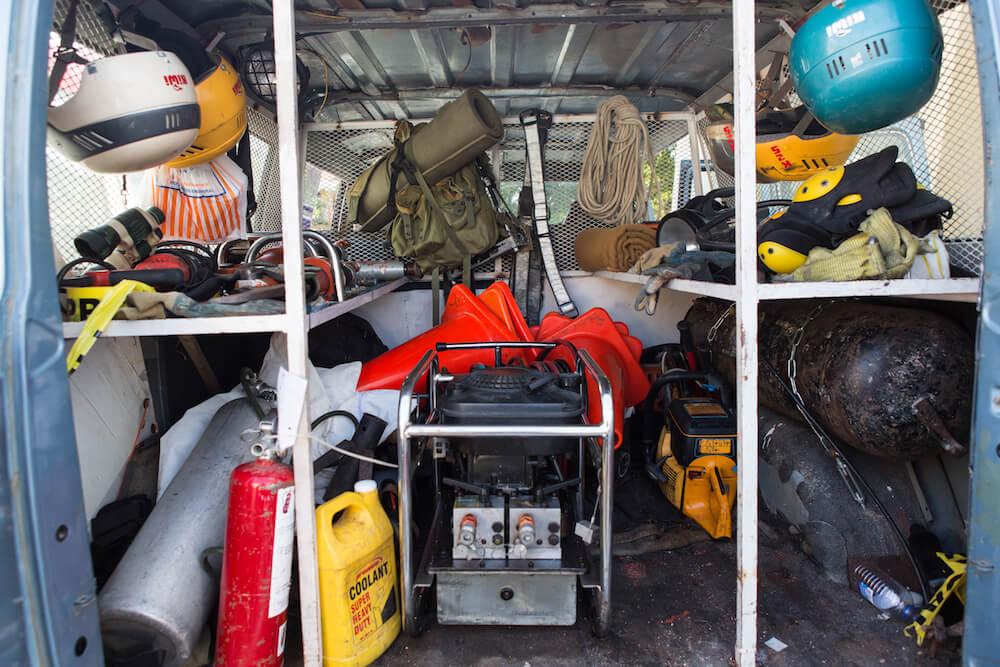 Rescate Ambar Rescue Truck - Puerto Plata, Dominican Republic - Trek Medics
