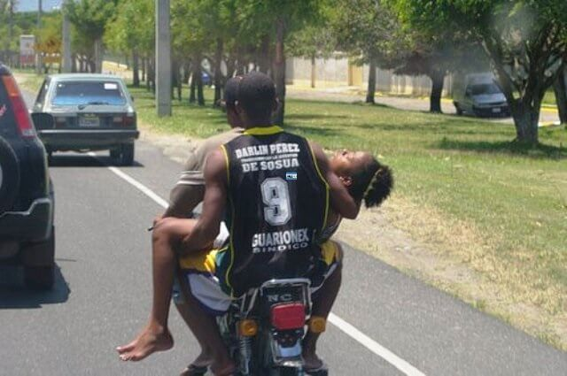 Patient Transport by Personal Motorcycle