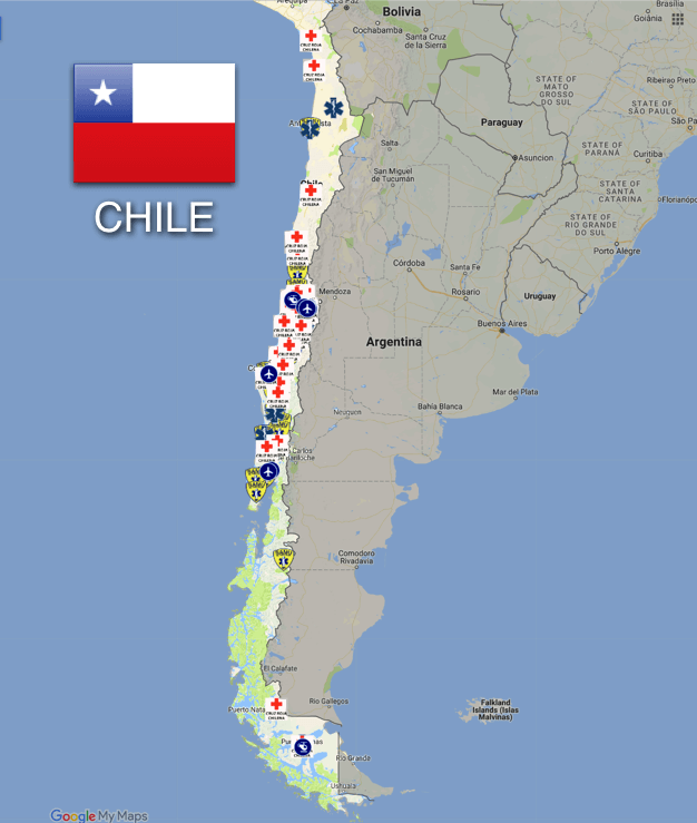 Dial 131 to Call an Ambulance in Chile