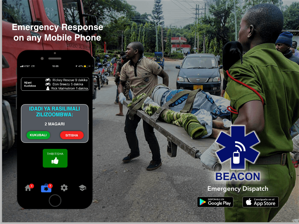 Beacon Emergency Dispatch App: Free Access for Volunteer