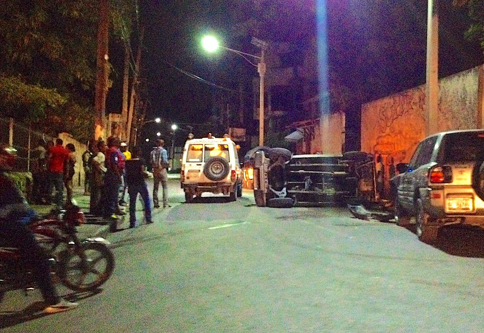 Haiti EMS 116 Response to Petionville Rollover, Port-au-Prince