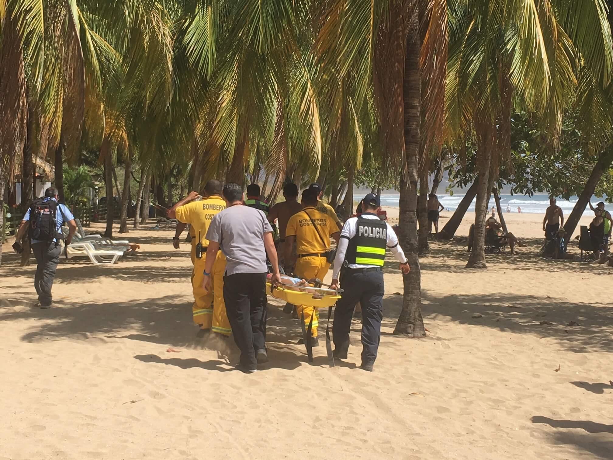 playa grande pediatric drowning, costa rica