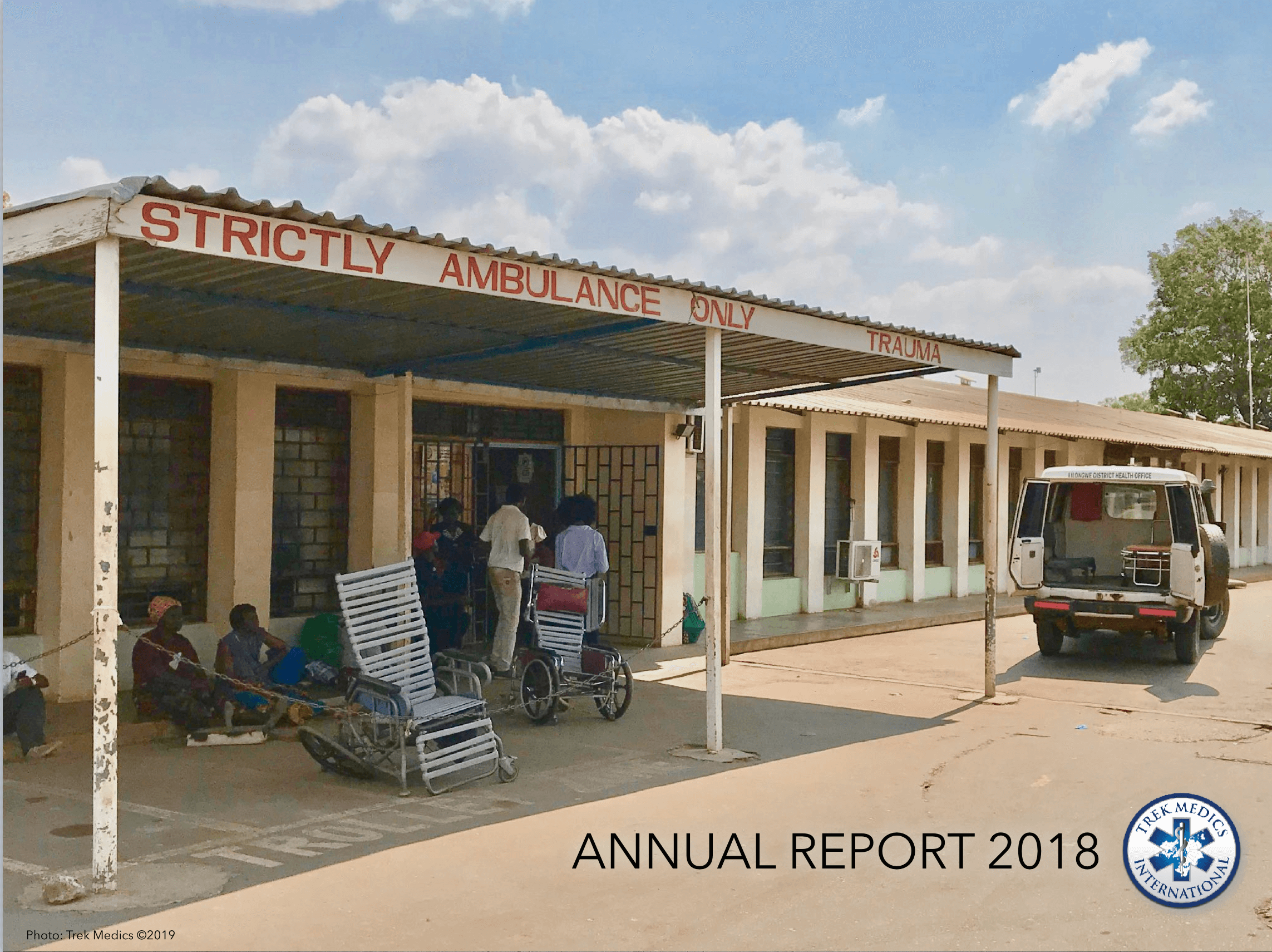 Trek Medics 2018 Annual Report Cover Image