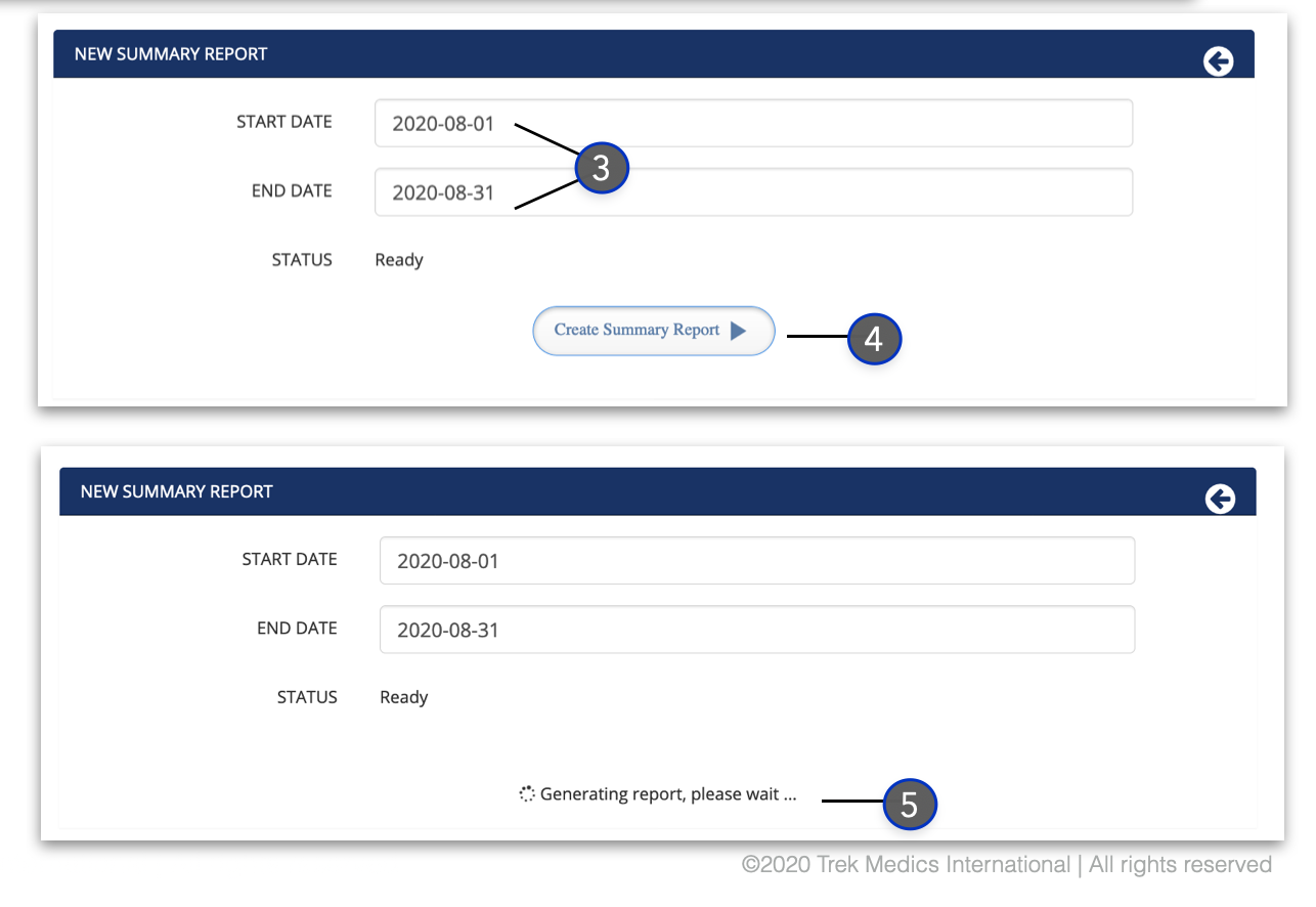 Generate Summary Report2 - Dispatcher Guide - Beacon Emergency Dispatch v4.0
