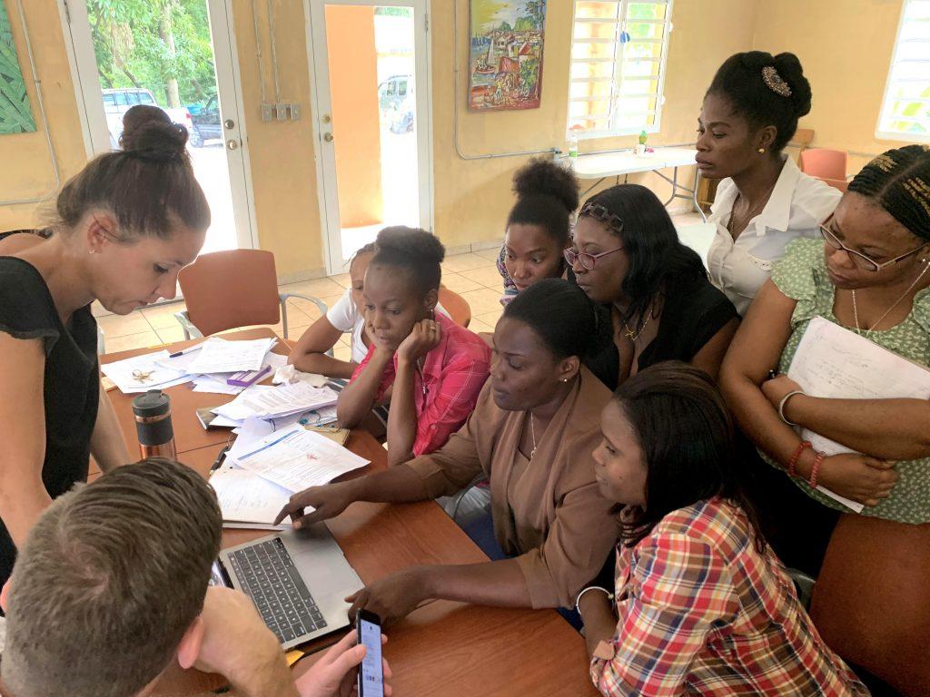 Dispatcher Training for MotoMeds HealthLine in Haiti