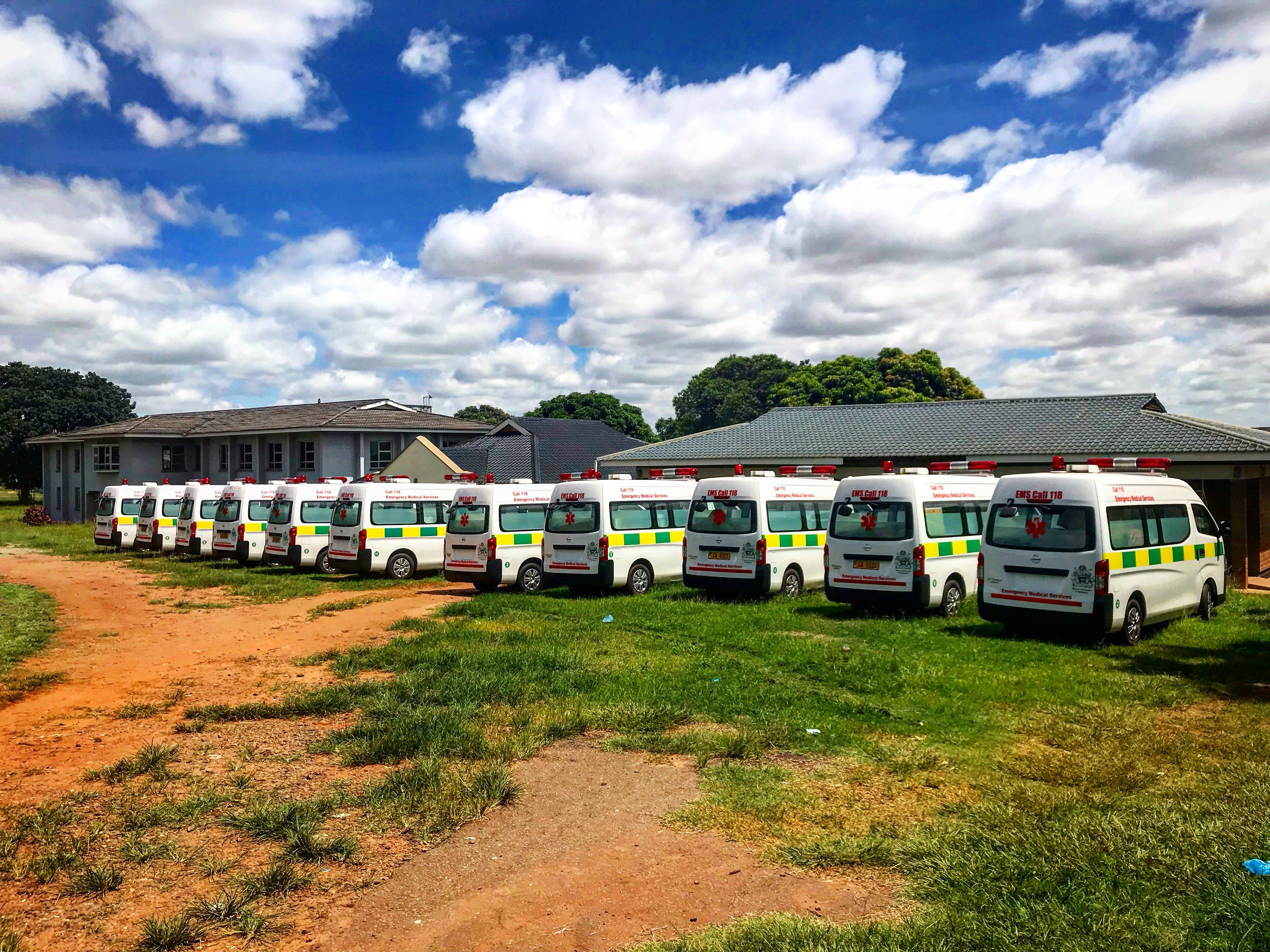 118 Ambulances - Malawi Ministry of Health