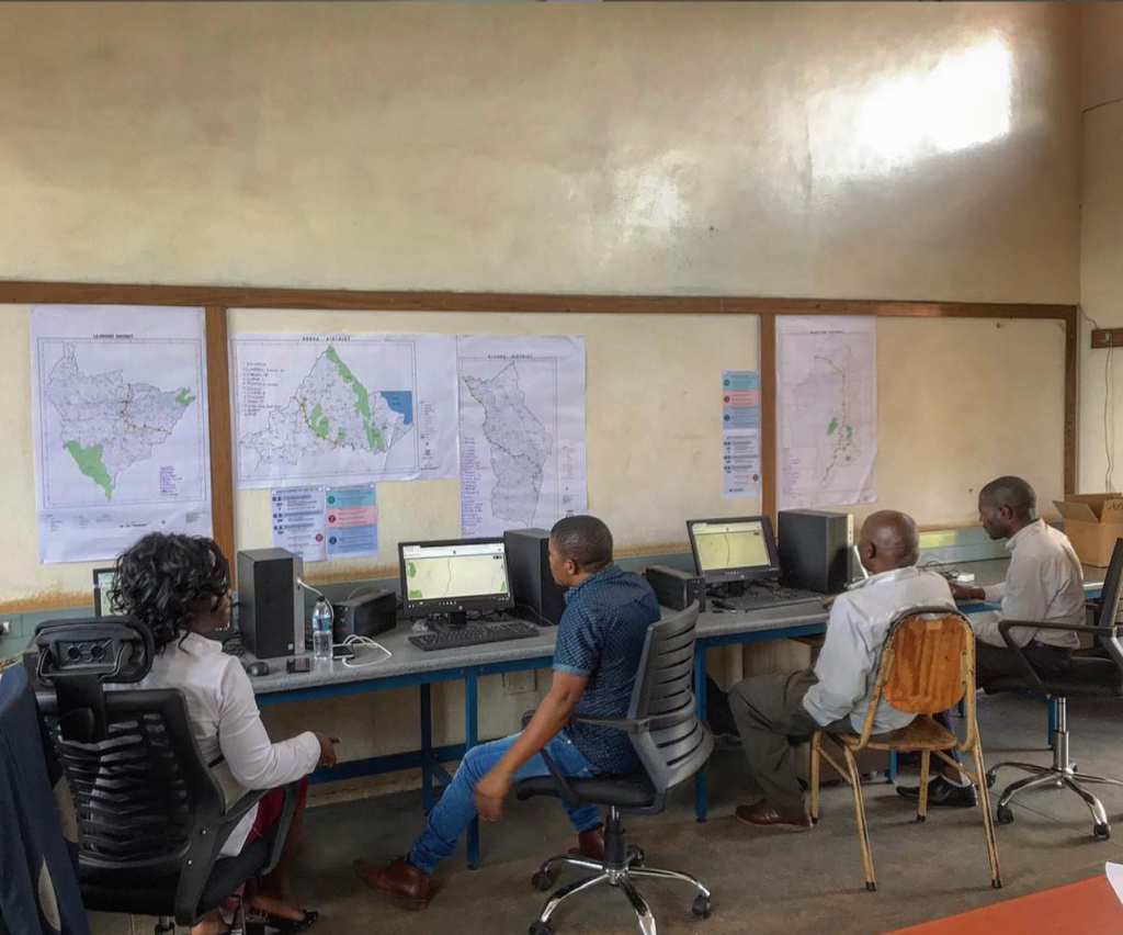 118 Call Center in Lilongwe, Malawi