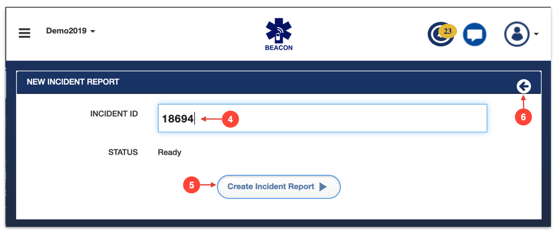 Update Incident Notes - Beacon Emergency Dispatch
