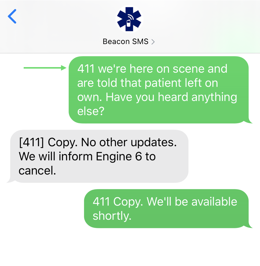 Beacon SMS 4.0 - SMS Chat