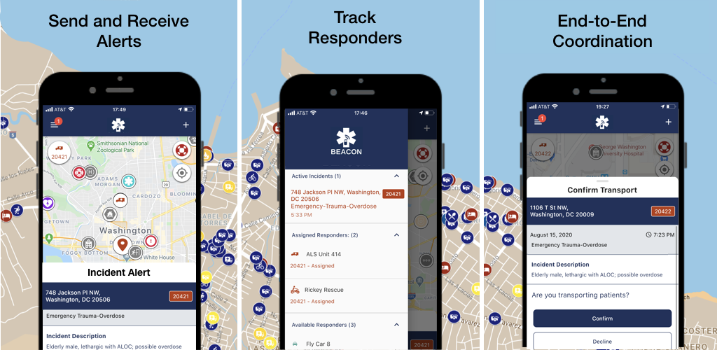 Beacon Mobile App v4.0 - Promotional Image